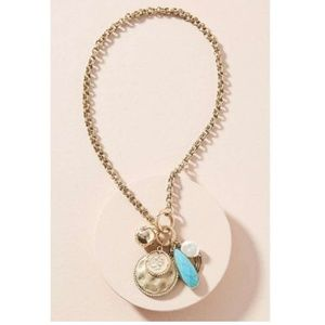 Anthropologie Clustered Charm Necklace $78 - NWT
